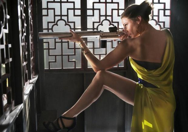 Isle Faust (Rebecca Ferguson) - najpiękniejsza podwójna agentka w historii kina