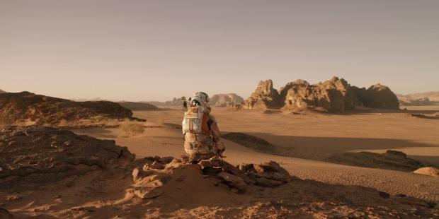 Naukowcy z NASA są zachwyceni realizmem marsjańskiego krajobrazu w filmie Scotta.