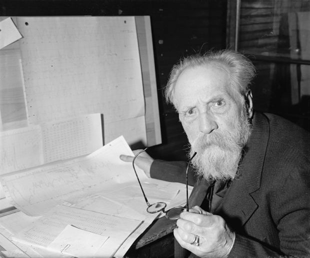Henryk Arctowski w Waszyngtonie, marzec 1940. / Fot. Harris & Ewing.