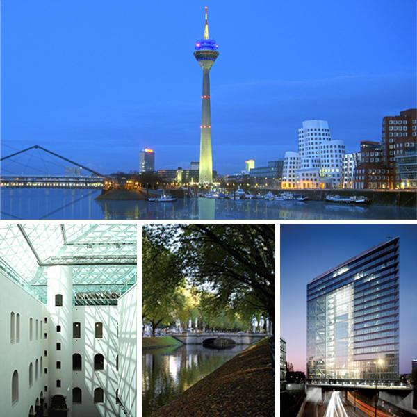 """Düsseldorf, Niemcy. W tym mieście, w szpitalu, Elsberg umieści jeden z najbardziej przejmujących momentów """"Blackoutu"""". /Fot. Wikipedia, CC 2.0 Niemcy."""