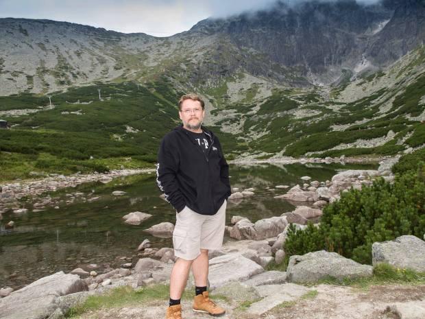 Prywatnie Dariusz Pawłowski jest zapalonym podróżnikiem / Fot. archiwum autora