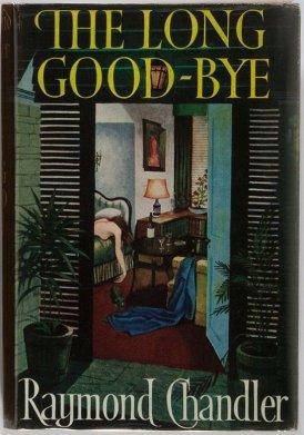 """Jedno z licznych wydań """"Długiego pożegnania"""" Raymonda Chandlera. Takie, a nie inne wybrałam nieprzypadkowo. :)"""