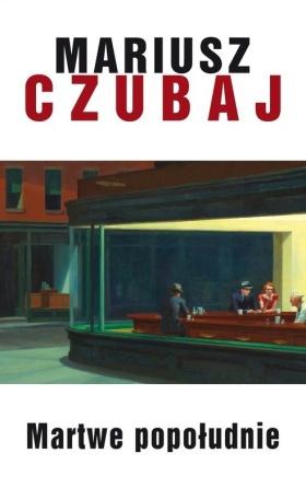 """Pierwsze wydanie """"Martwego popołudnia"""" z """"Nocnymi jastrzębiami Hoppera na okładce."""